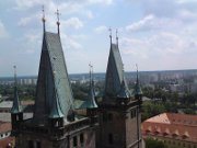 věže katedrálního kostela sv. Ducha